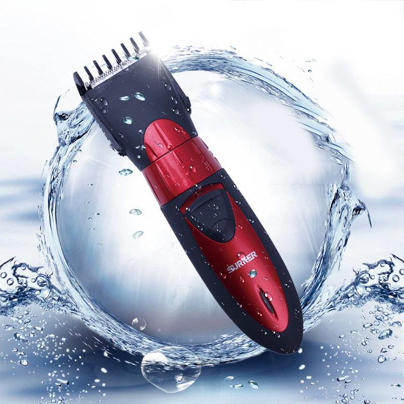 Professional Electric Hair Clipper Rechargeable Trimmer Cutting Machine To Haircut Beard Trimer Waterproof Clippers