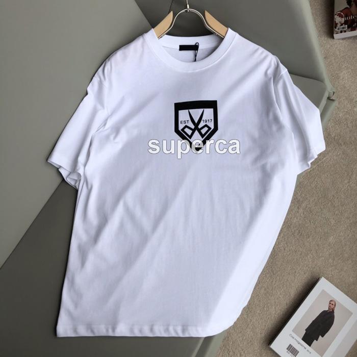 21SS Top Qaulity Summer Mens 디자이너 티셔츠 티셔츠 100 % 코튼 다채로운 곰 인쇄 패션 캐주얼 커플 반팔 티 남성 여성 편안한 T- 셔츠 BL014