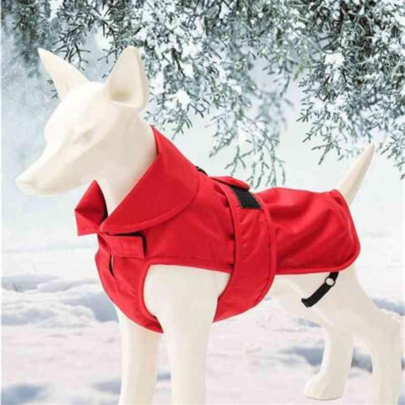 Pet Clothes Dog Jacket Outdoor Warm Jackets Winter Waterproof Coats for Small Medium Dogs Christmas Gifts 8inch-16inch