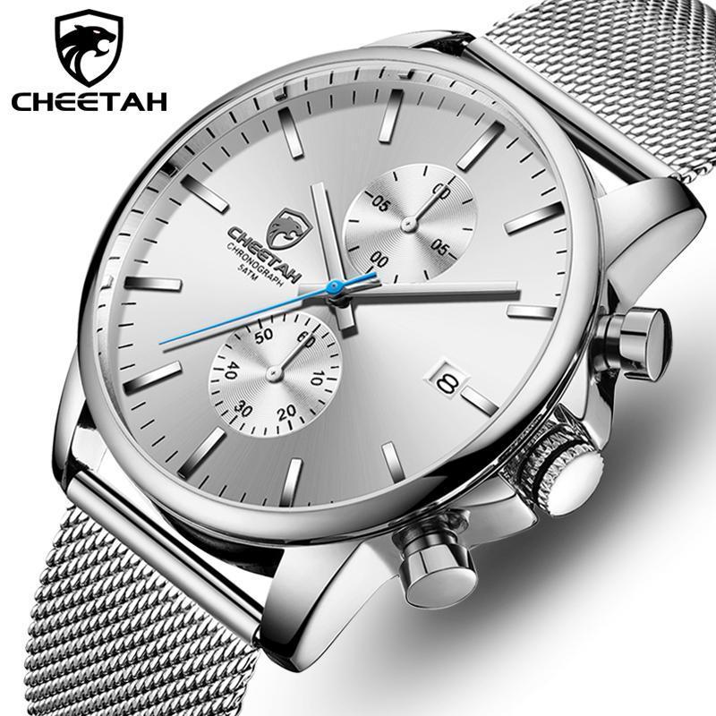 Armbanduhren Gepard Mode Business Herren Uhren Top Sport Chronograph Wasserdichte Männer Watch Quarzuhr Relogio Masculino