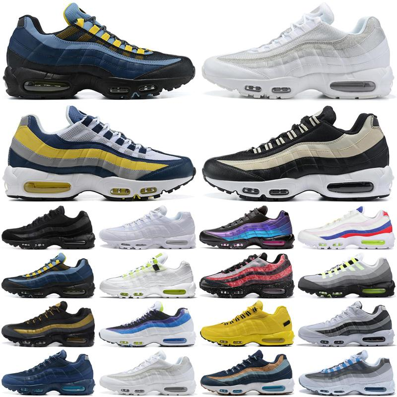 max 95 zapatos para hombre 95s Triple Black white Worldwide Cherry Blossom Throwback Future Panache Neon hombres zapatillas deportivas zapatillas de deporte