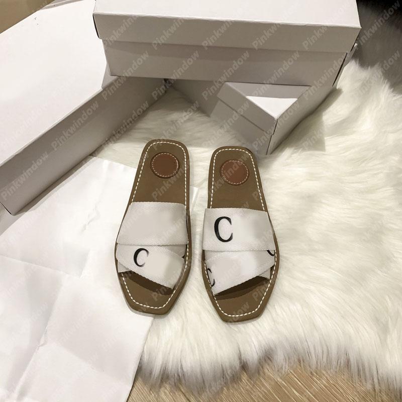 النساء الشرائح الصنادل المسطحة الخشبية بغل في قماش espadrille المصممين المزارعين sandalias sandale مصمم الأحذية الشريحة سانداليس 2104061L