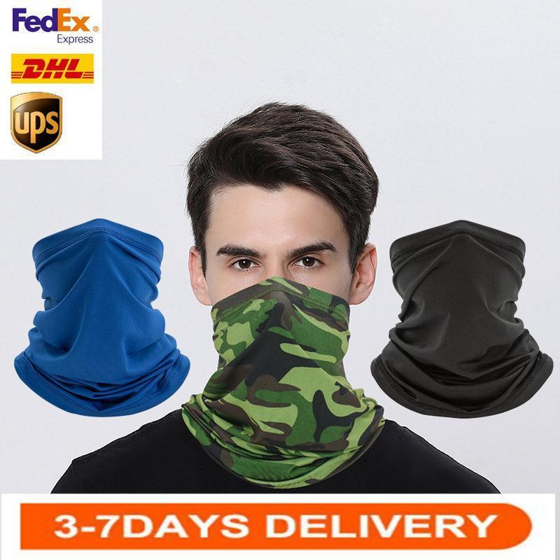 US STOCK, Cycling Unisex Magic Head Face Protective Mask Com Neck Gaiter Biker's Tube Bandana Scarf Wristband Beanie Cap Outdoor Sports