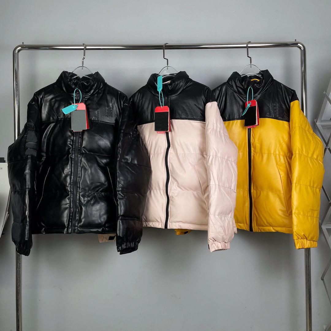 Moda erkek Aşağı Ceket 21FW Kış kadın Parkas Sıcak Mektup Nakış Desen Rüzgar Geçirmez Kumaş Yüksek Kaliteli Ceket Boyutu M-2XL 9 Renk