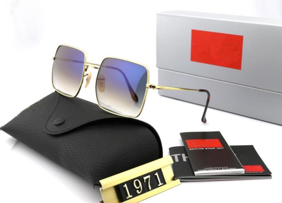 Brillen Metall Vollrahmen Fahrende Designer Sonnenbrille Damenmode Sonnenbrille Square Sommer Stil Hohe Qualität Anti UV 6 Farboptionen WX33