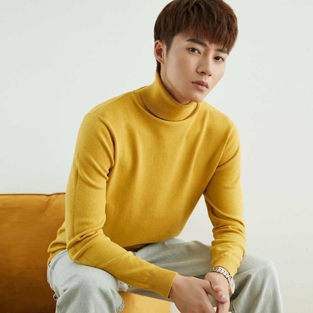 Толстовки сплошной цвет подходят мужская тенденция красивый свитер толстый отдых осенью и зимой