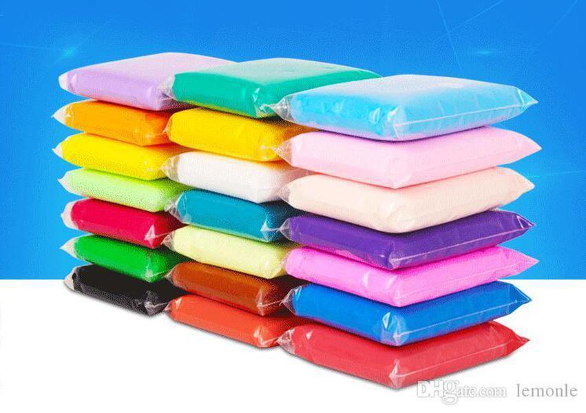 100g artesanal diy macio polímero modelando argila conjunto de lama plástica de plasticough brinquedos para crianças