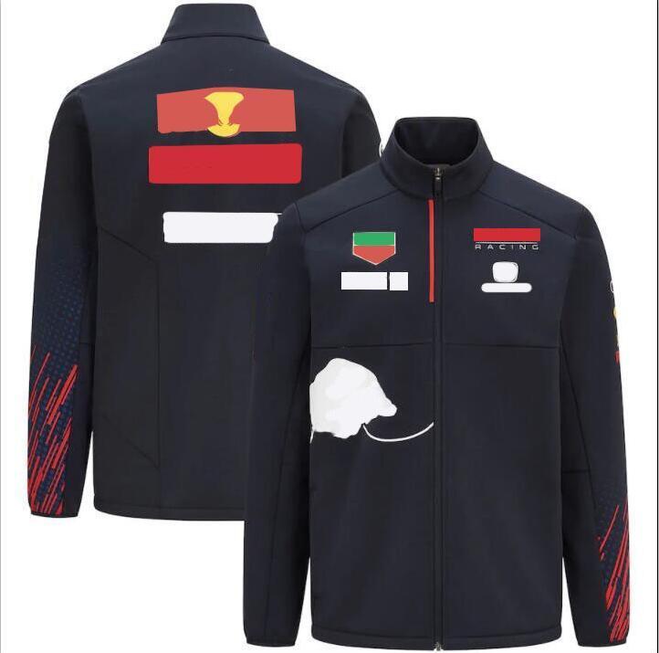 2021 F1 Formula One Vestito da corsa Giacca a maniche lunghe Giacca a vento Molla e autunno Inverno Team New Jacket Giacca Calda Maglione Personalizzazione