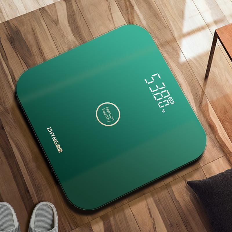 Smart balanças digital balança balança corpo eletrônico usb charging floor de vidro banheiro Pese personne artigos domésticos DE50TZC
