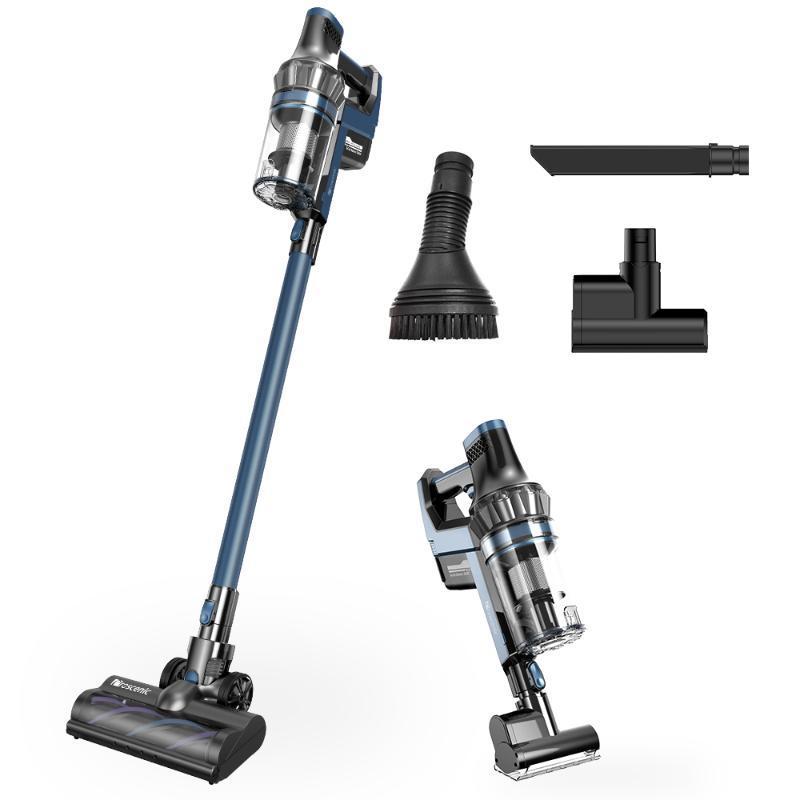 Limpiador de vacío inalámbrico PROSCENIC P10 Pro, mano 4 en 1 de mano con pantalla táctil LED, 4 limpiadores de modos de succión ajustables