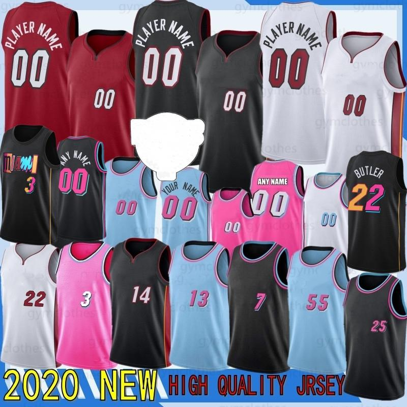 Джимми Тайлер Батлер 22 Herro Dwayne Баскетбол Дуйс Дуэйн Бэм Уэйд 2021 NCAA Jersey Adebayo Goran Robinson Dragic 25 Nunn Рубашка