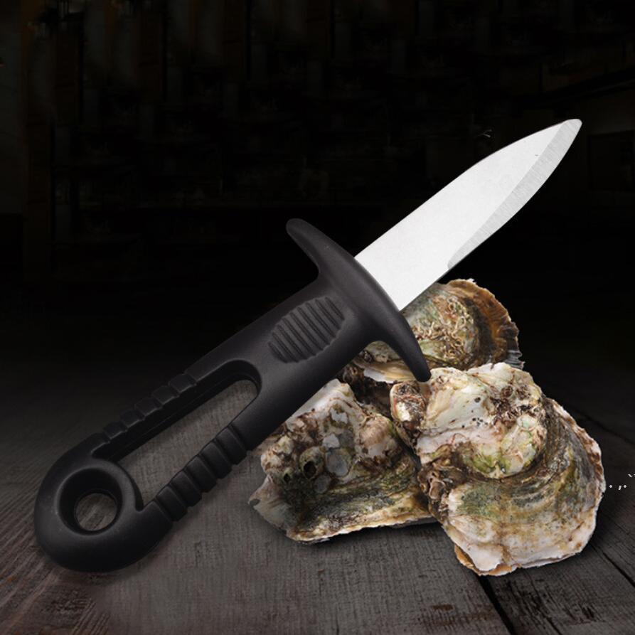 Oyster Knife Scappamento Coltello In Acciaio Inox Pratico Pesce Seafood Shell Shell Strumento Durable Multifunzione Pratico Cucina Strumenti DWF6719