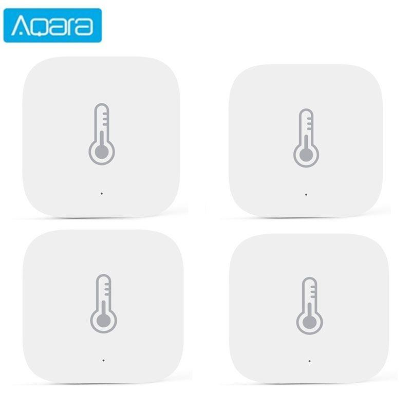 AQARA Датчик температуры Умный воздух Воздушная среда Влажность Среда Датчик Smart Control Зигби Подключение для Xiaomi App Mi Home
