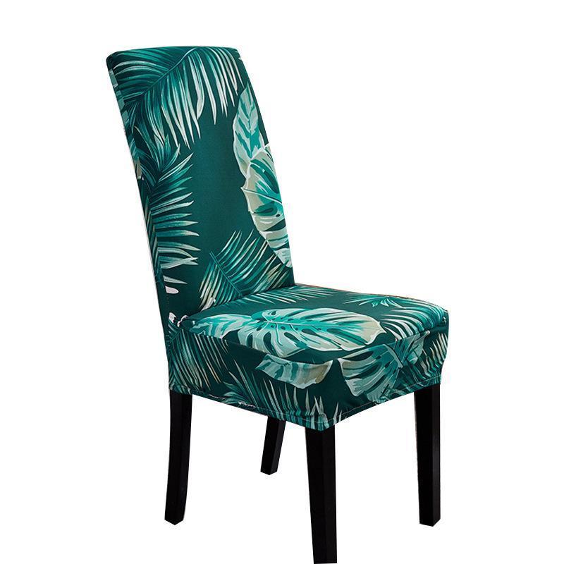 Inicio Sistema de cojín simple Cubierta de silla de comedor Taburete Universal Seal Stretch El Mesa Tela Cubiertas