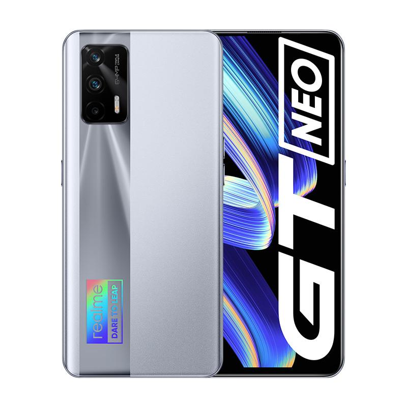 "Original Realme GT Neo 5G Mobile Phone 12GB RAM 256GB ROM MTK Deminsty 1200 64.0MP AI 4500mAh Android 6.43"" AMOLED Full Screen Fingerprint ID Face NFC Smart Cell Phone"
