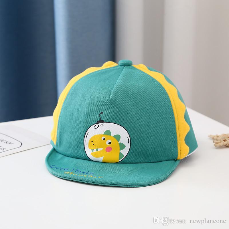 New Baby Cap Spring Temperament 6 a 30 meses Baby Hat en la primavera y otoño Tipo delgado de un niño lindo hembra suave alrededor del béisbol