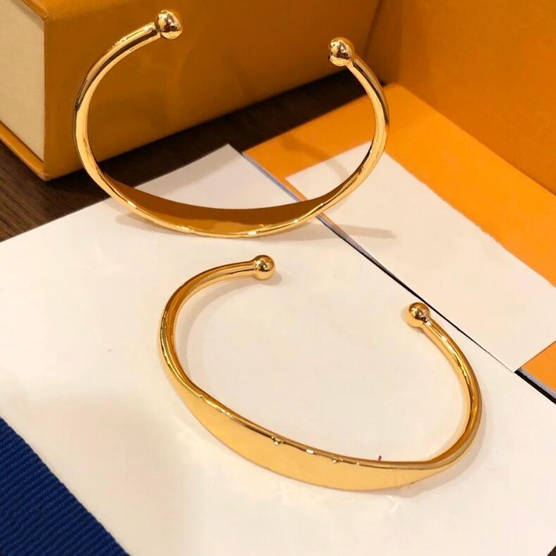 2021 المصممين الفضلات العلامة التجارية الصلب سوار النساء سوار مجوهرات الأزياء والإكسسوارات مفاجأة هدية الأساور الكلاسيكية