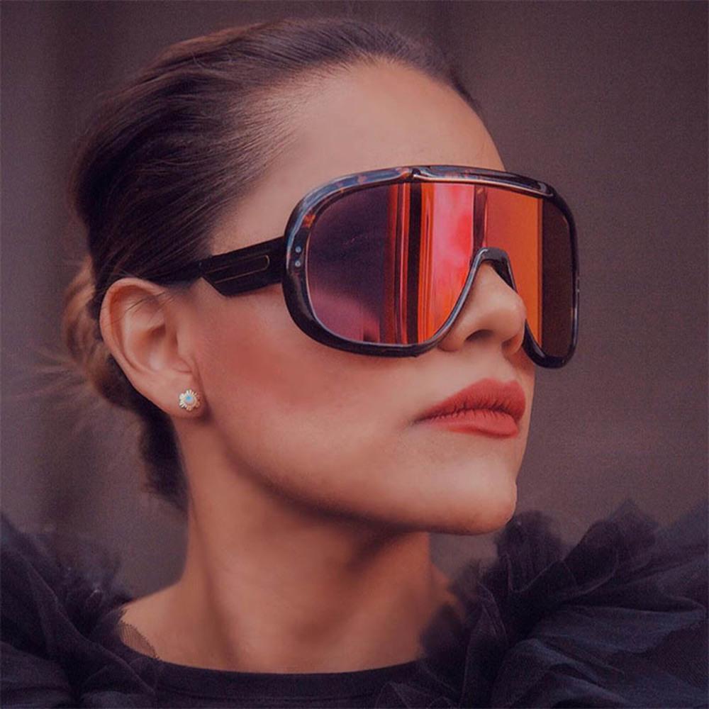 2021Tendy enorme óculos de sol mulheres polarized lens hight qualidade na moda grande sol