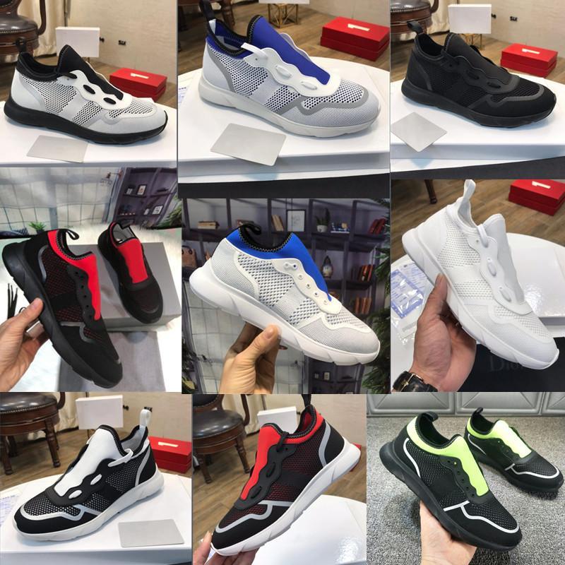 الدانتيل يصل ب 25 الترفيه والرياضة الرجال عارضة أحذية رياضية أحذية النساء إيطاليا منخفضة أعلى الربط هيكل الكلاسيكية تصميم رمادي النيوبرين شبكة النسيج خفيفة الوزن المطاط الوحيد