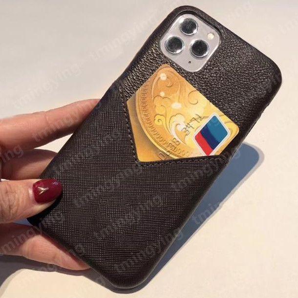 Top Designer Designer Designer Custodie per iPhone 13 Pro MAX 12 Mini 11 XS XR x 8 7 Plus Fashion Stampa Copertina Slot Slot Slot Luxury Mobile Shell Case tascabile