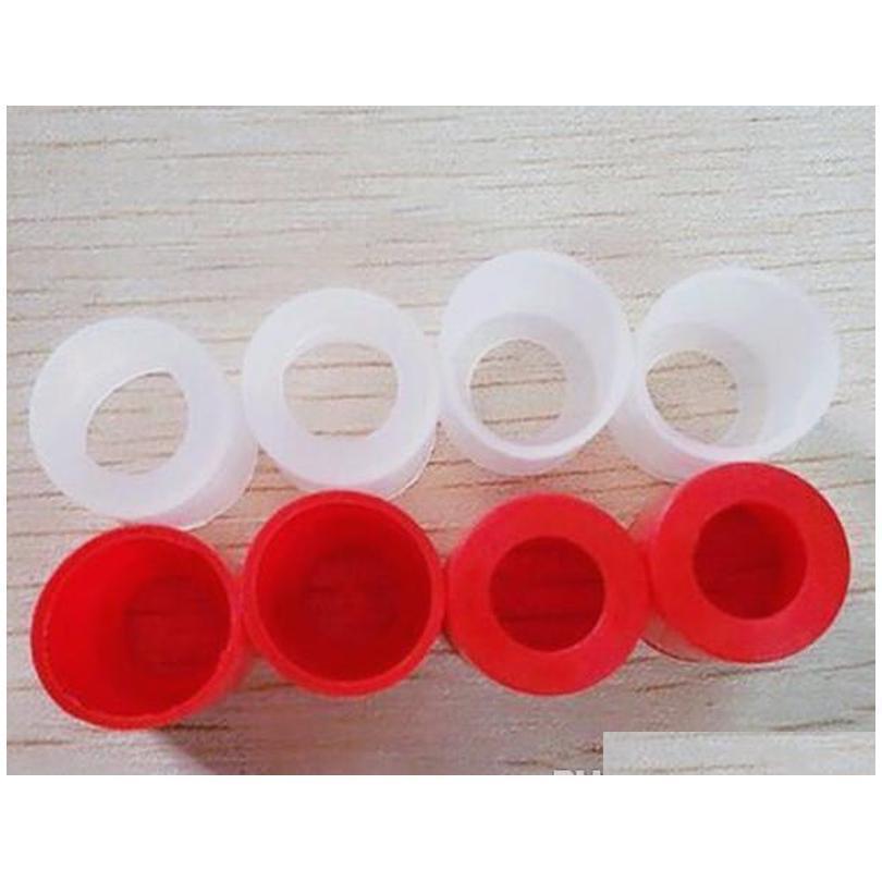 Otros accesorios de ECIG Amplio Bore Drip Tuber Cubierta de plástico SILE BOKPEZE TIPA DE PRUEBA DE GOMA DESABLE TIPS TESTER PARA ATLANTIS ARCTI 0xart