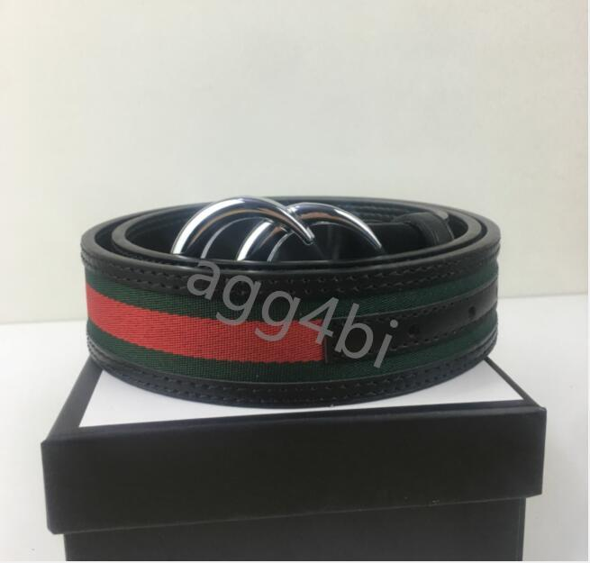 Luxury Fashion Large Buckle Leather Belts with Luggage Designer Men's Wear High Quality