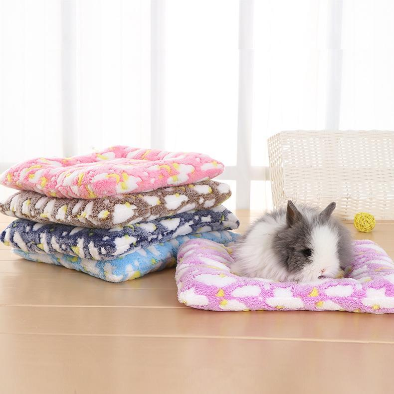 Small Animal Supplies Guinea Pig Hamster Bed House Winter Warm Squirrel Hedgehog Chinchilla Mat Nest Accessories
