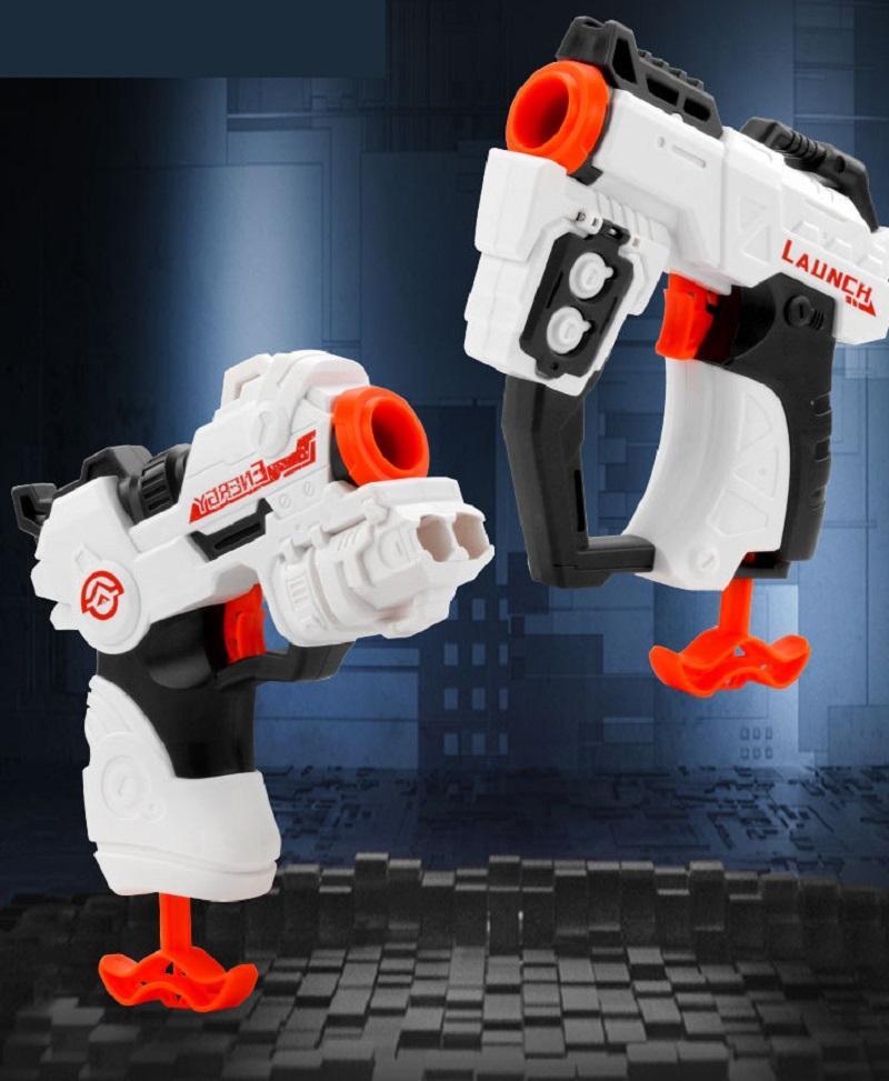 Manuel EVA Yumuşak Kurşun Silahı Çocuk İnteraktif Oyuncak Erkek Çekin Bolt Fırlatma Savaş Tabancası