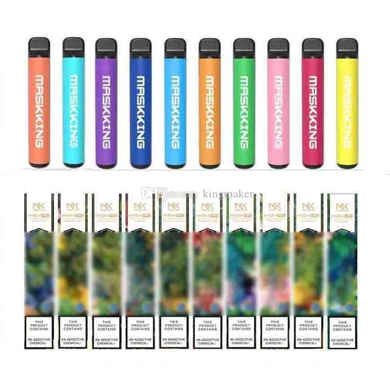 Yüksek Pro MK Vape Kalem Masking Puf Bar Tek Kullanımlık Buharlaştırıcı Ecig Sigaralar 650 mAh Pil 3.5ml Yağ Cihazı Pod 1000 Puffs