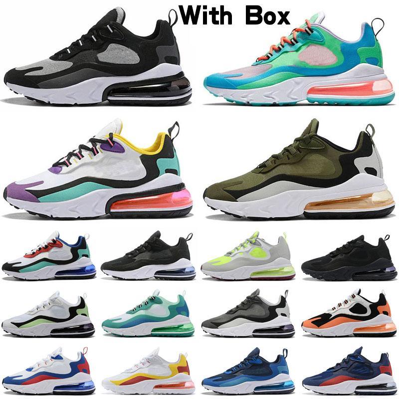 Nike Air Max 270 React Freies Verschiffen 97 LX Kinder Runing Shoes Jungen Läufer Silber Rosa Blau Schwarz Kinder Kleinkind athletische Jungen Mädchen Turnschuhe im Freien