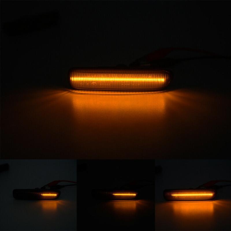 1999-03 الصمام درابزين بدوره إشارة ضوء العلامة الجانبية عالية الجودة أضواء الطوارئ