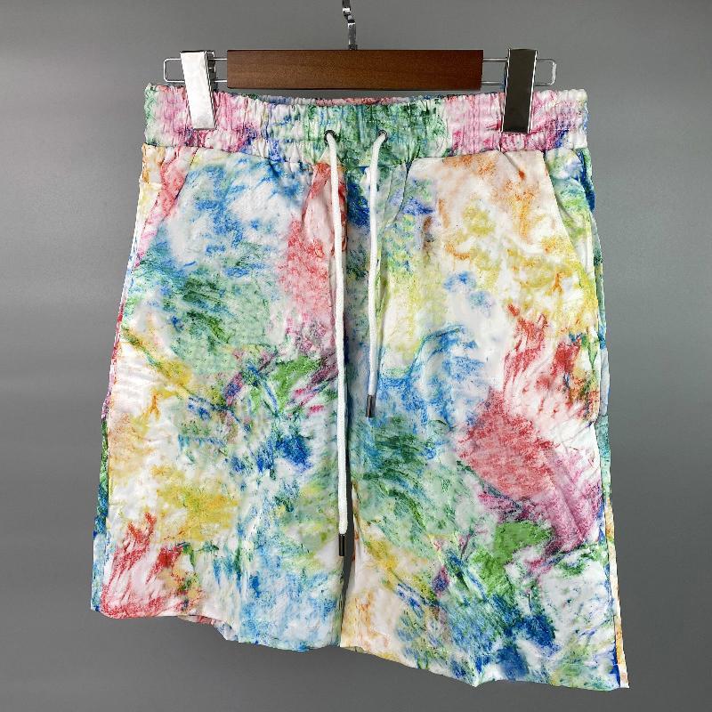 MENS Shorts Summer Jogger Graffiti Pattern Modèle d'impression rapide Séchage rapide Pantalon Beatch Casual 3 couleurs Taille M-XXL