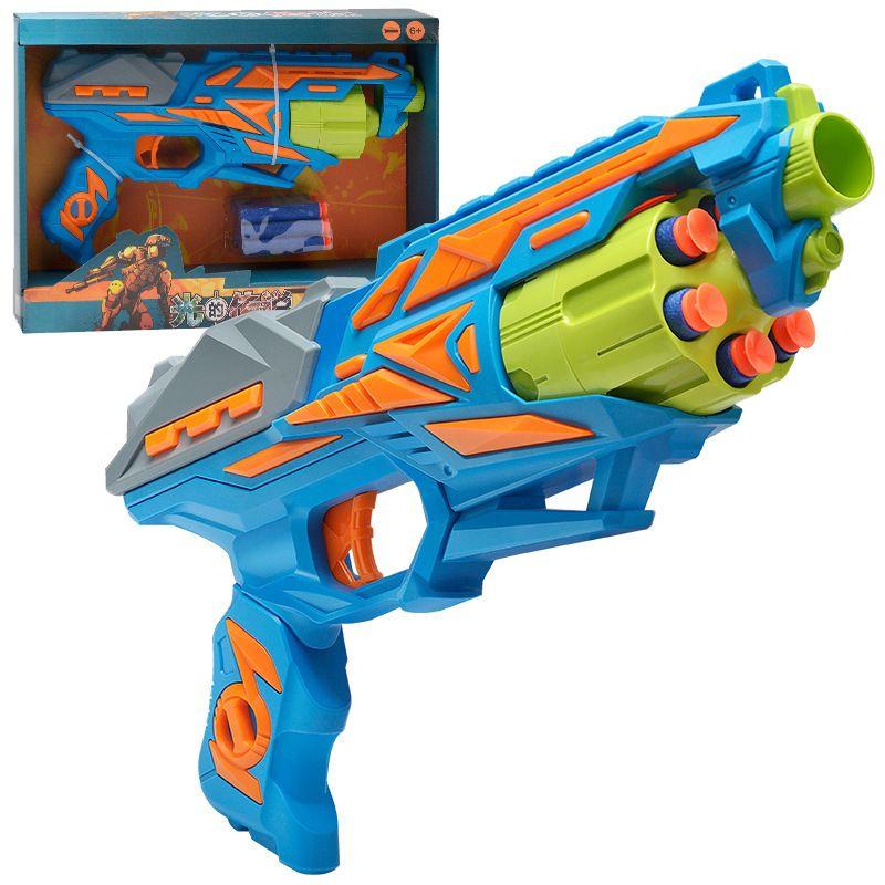 Çocuk Manuel Seri Çekim Yumuşak Bullet Silah Oyuncaklar Koşucu Başlatıcı Enayi Boy Oyuncak Sniper Tüfek