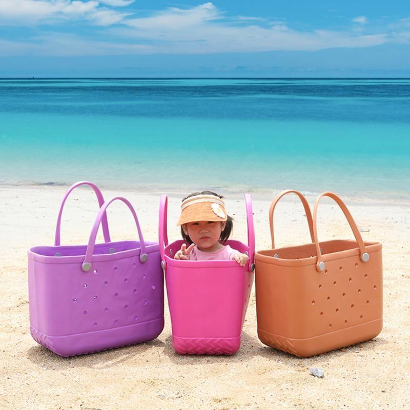 Açık Çanta Plaj Büyük Leopar Baskılı Eva Sepetleri Kadın Moda Kapasitesi Tote Çanta Yaz Tatili 2021