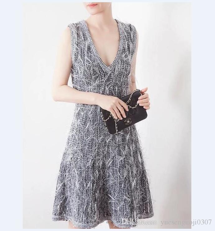 2021 جديد على الوجهين كبير الخامس الرقبة الرسن ثلاثي الأبعاد مزاجه شرابة هو أرق متماسكة الخصر اللباس أكمام الصدرية تنورة