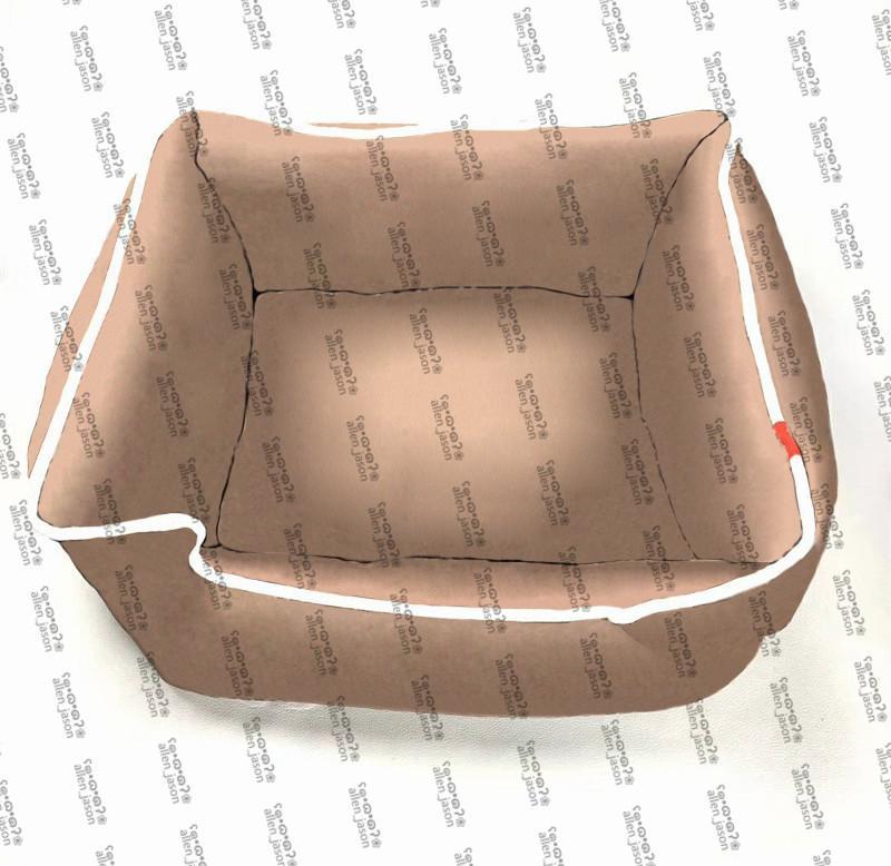 브라운 프린트 kennels 슈나우저 프랑스어 테디 코르기 개 침대 친환경 편안한 부드러운 좋은 꿈 hipster 제품