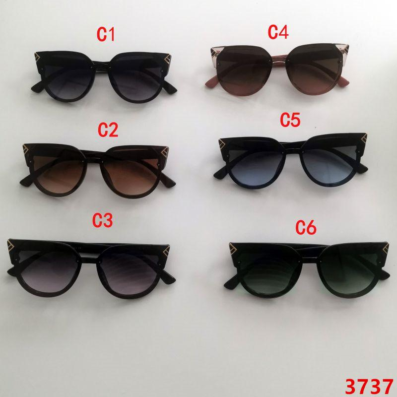 New sunglasses luxury sunglasses occhiali gafas de sol eyeglasses fashion accessories woman adult blue cat eye oval sunglasses