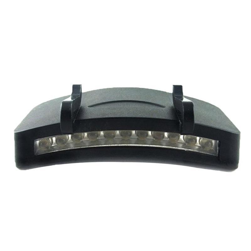 3/11 LED 낚시 캡 램프 충전식 리튬 배터리 Cornice 램프 헤드 라이트 손전등 헤드 모자 가벼운 클립 밤 낚시 572 Z2