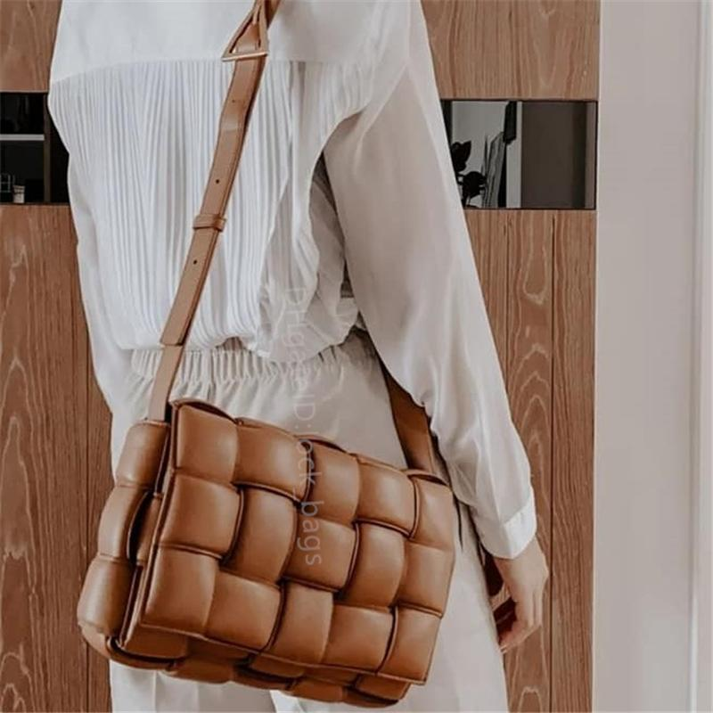 2021 Lady Knitting backpack Handbags Shoulder Bags Totes Clutch Cross Body handbag Designer Caviar leather Purse Quilted Flap Square Bag Crochet wallet purses top