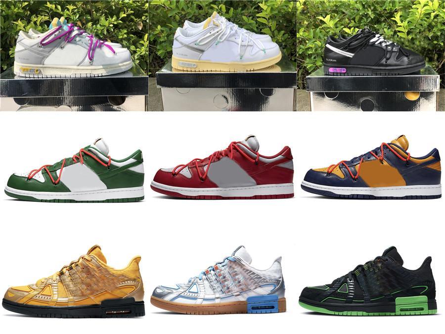 2021 الافراج عن أصيلة 1 من 50 دونك 20 30 الكثير 40 منخفضة فوتورا أحذية الرجال النساء أحذية رياضية في الهواء الطلق مع صندوق الأصلي US7-13