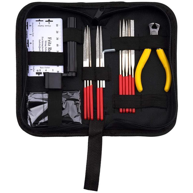 Guitar Tool Kit Repair Care Instrument For Ukulele Bass Mandolin Banjo Outdoor Pads