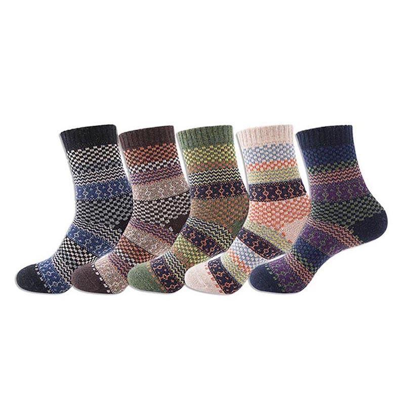 Sports Socks Outdoor Men Women Stripe Cotton Sport Design Multi-Color Sock Unisex Runing