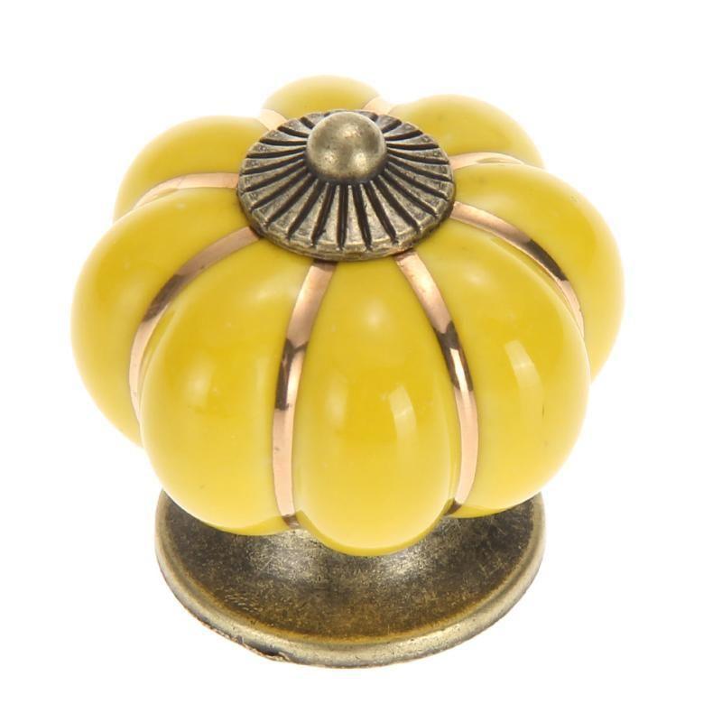 4 * 4 * 4 cm Armários de cozinha Knobs Quarto armário gavetas 7 cores porta cerâmica pull gga5083