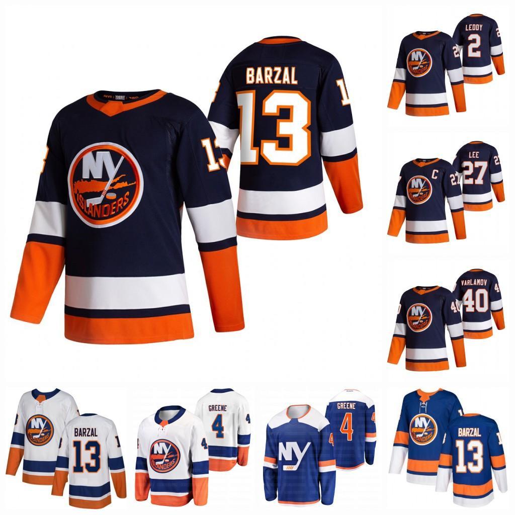 Mathew Barzal New York Islanders 2021 Jersey Anders Lee Jean-Gabriele Pageau Kyle Palmieri Beauvillier Semyon Varmov Komarov Cizikas Martin Josh Bailey