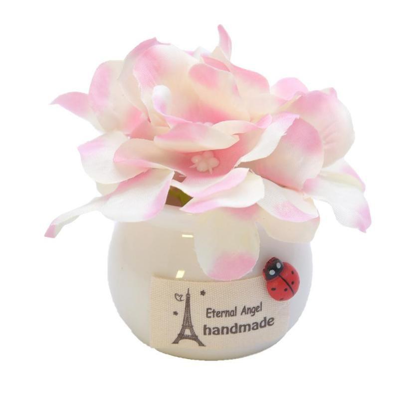 إكليل الزهور الزخرفية وعاء الاصطناعي المنزلية زهرة زهرية زخرفة مكتب زخرفة