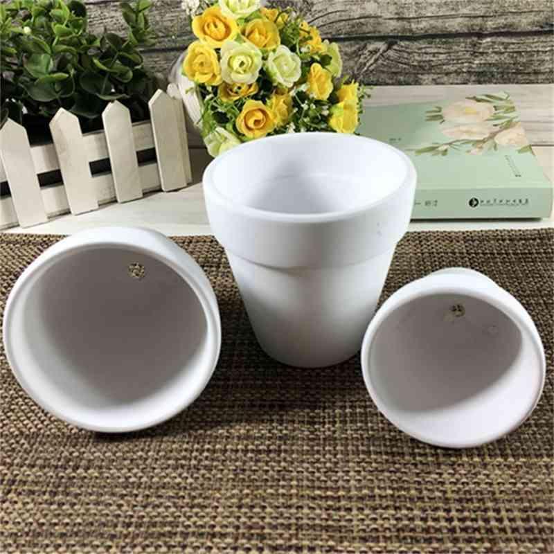 Mini Terracotta Pot Clay Ceramic Pottery Planter Cactus Flower Succulent Nursery Pots Great Garden Pot4CPS JNO3 QKXV