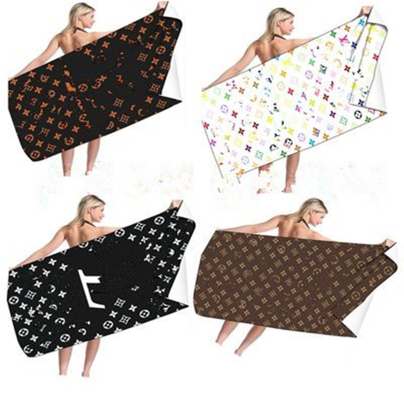 문자 캐주얼 아이 스타일 비치 타월 패션 여름 목욕 수건 고품질 클래식 디자인 홈 선물