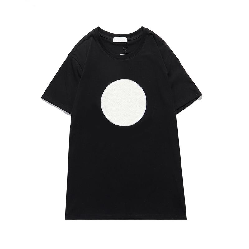 Erkekler T-Shirt Mektubu Baskı Yeni Kısa Kollu Trendy Yaz En Ins Tees Moda Rahat T Shirt Kadın Giysileri Serin Aktif Spor Run 2021
