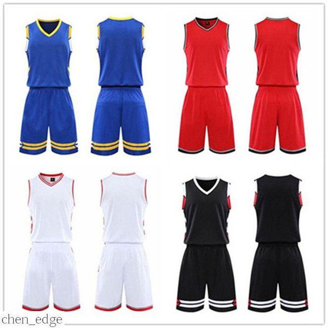 2021 hombres equipo de baloncesto Jersey Sets Pantaloncini Da Basket Sportswear Ropa de correr Blanco Negro rojo púrpura verde 36 0302