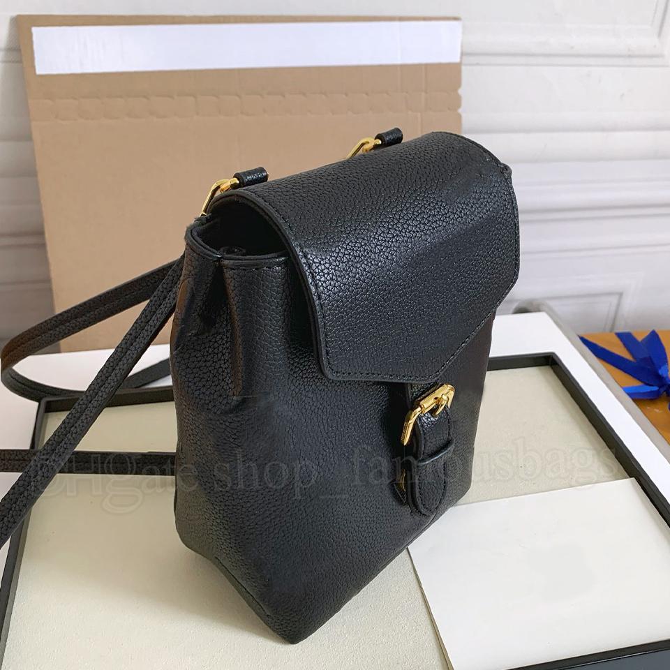 Damen Designer Taschen 2021 Mini Rucksack Luxus Handtaschen Pochette Mode Umhängetasche Hohe Qualität Echtes Leder Logos Blumen Geprägte Lu Tiny Rucksäcke